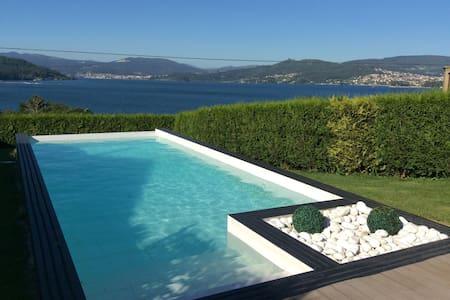 Chalet Impresionantes vistas al mar - Rías Baixas - Huis