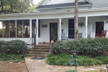 Private Room Country Oasis in the City - Denton - Casa