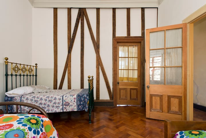 Second bedroom with three comfortable beds