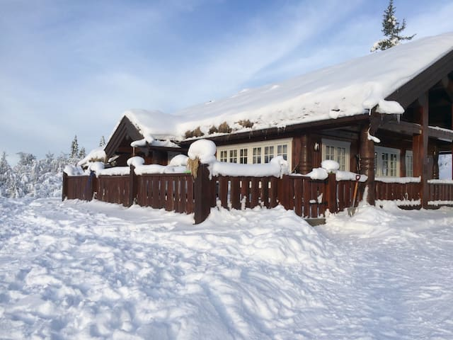 Traditional timber cabin-Valdres - Fagernes - Hus