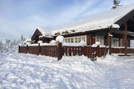 Traditional Norwegian cabin-Valdres - Fagernes - Talo