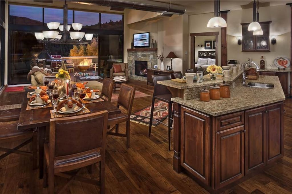 Open Dining & Living Room, perfect for entertaining