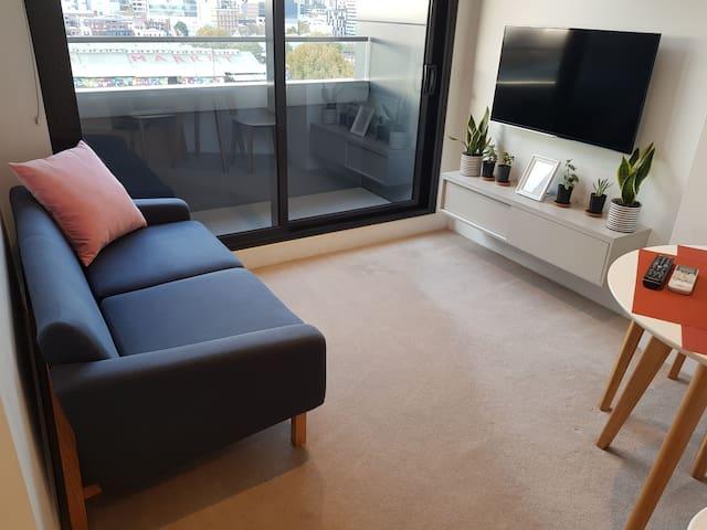 Comfortable double sofa