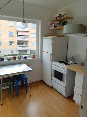 Bright&cozy flat 12 minutes from down town Oslo