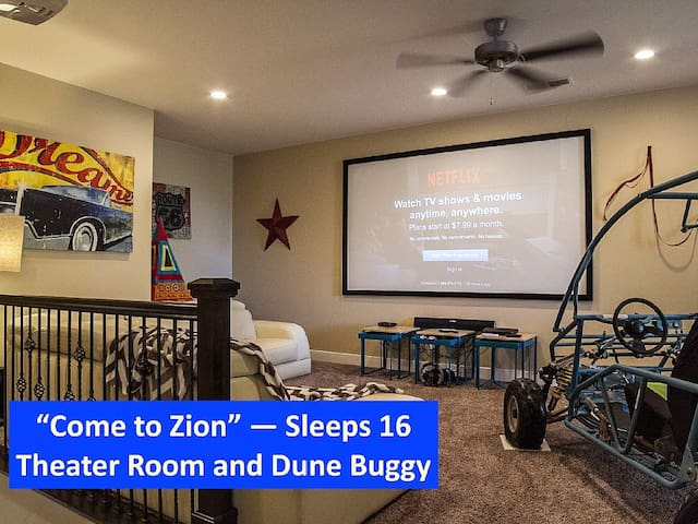 LUXURY HOME for 16! ESCAPE WINTER - COME TO ZION!! - Washington