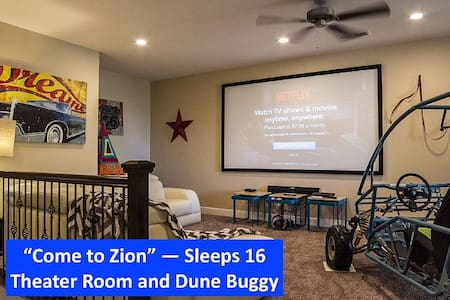 COME TO ZION FOR WARM BEAUTIFUL SPRING! SLEEPS 16! - Washington - Casa