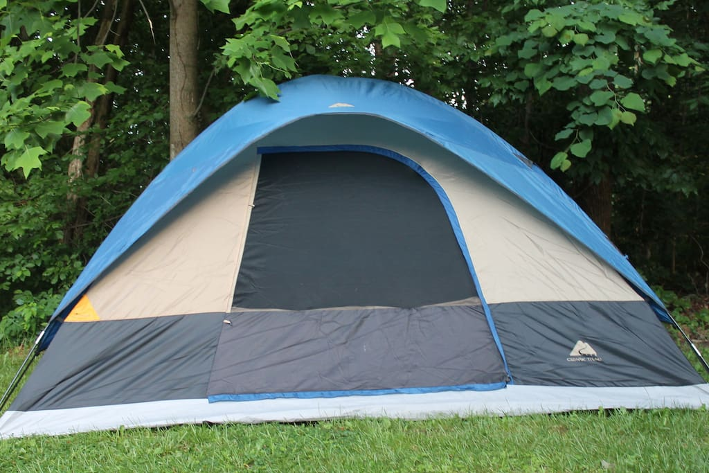 Erect your tent for weekends and short term stays!