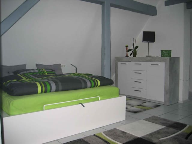 Moderne 1-Zi-Wohnung - Au am Rhein