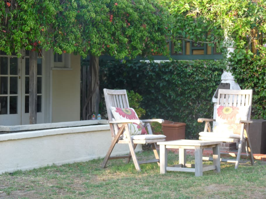 The Garden - Perfect for Morning Coffee or an Evening Wine