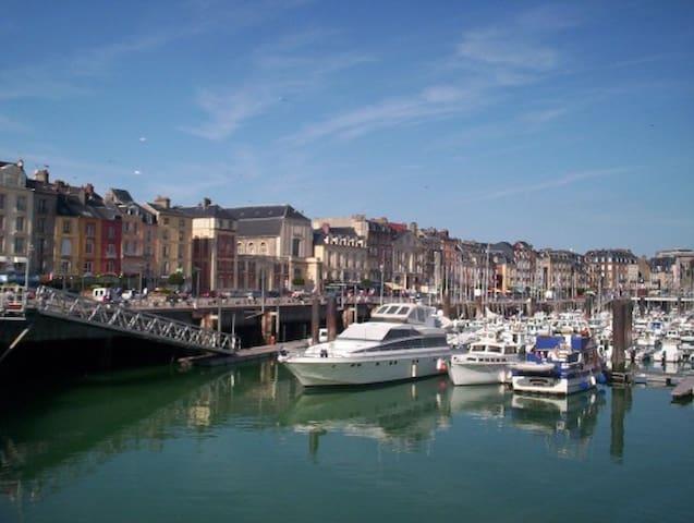 Location gîte, 4 personnes, vacances, mer à Dieppe - Dieppe - Apartamento