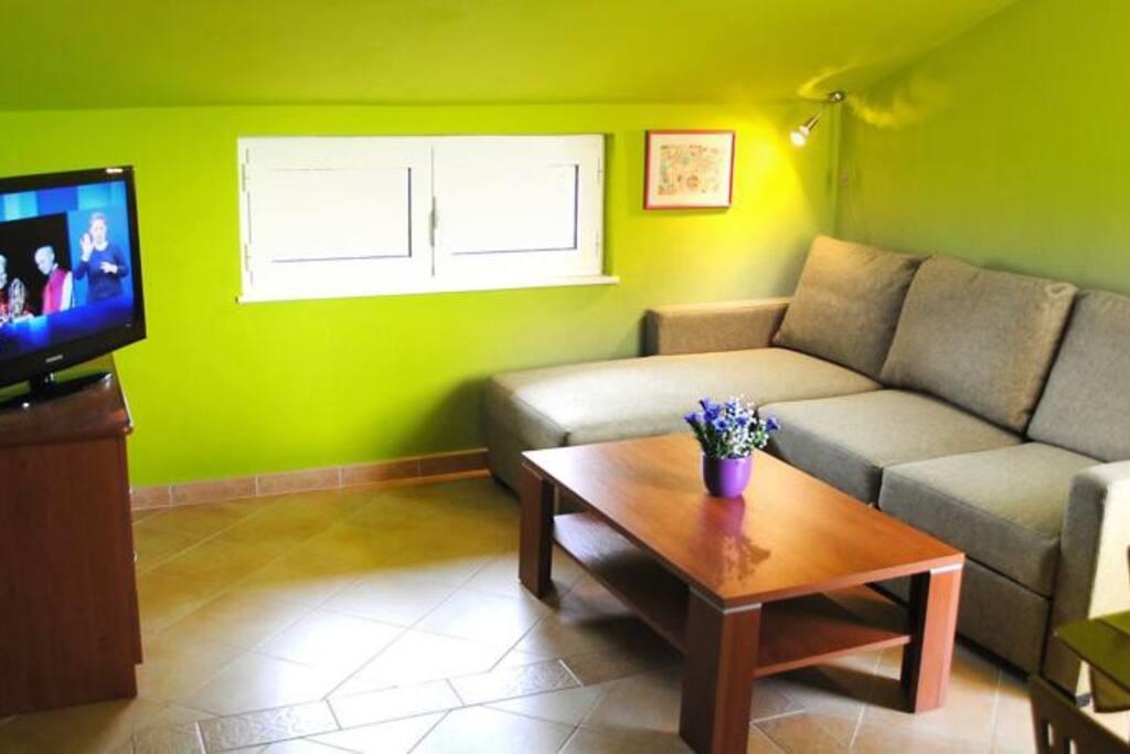 Interior of apartment: living room (1)
