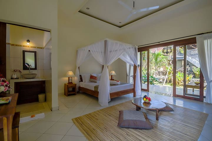 Loka Pala charming room3 - Ubud - Appartement