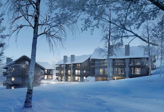 Ski-in Ski-out nybyggd lägenhet, Lindvallen, Sälen