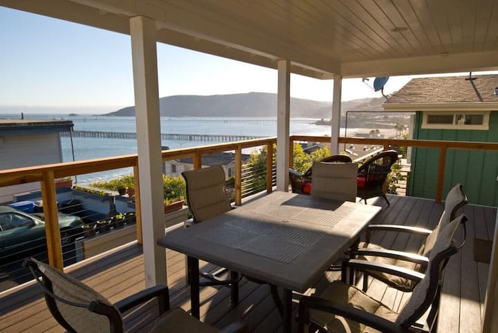 Trav's Beach House overlooking Avila Beach