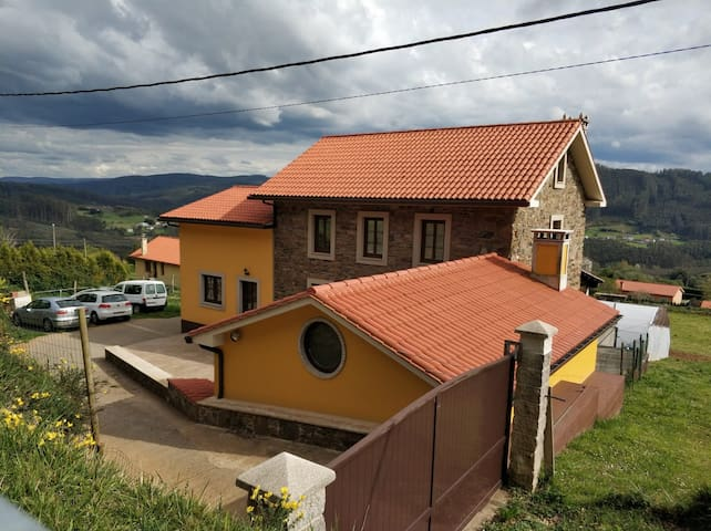 Casa Rural en Cedeira, A Coruña.