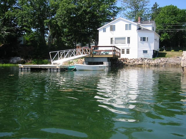 Waterfront House With Private Dock and Kayaks! - Mount Desert - House