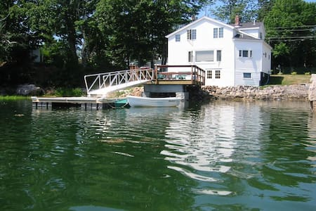 Waterfront House With Private Dock and Kayaks! - Mount Desert - Casa