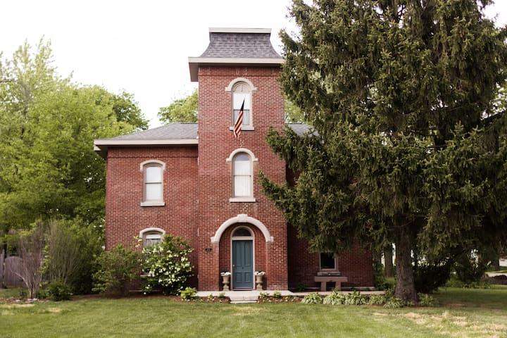 The Castle House / 1870 Brick Italianate Home