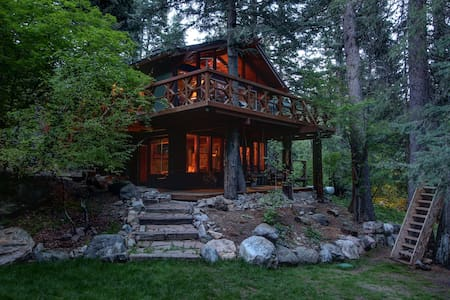 Treehouse Cabin on the Stream - Family Friendly - Sundance - Haus