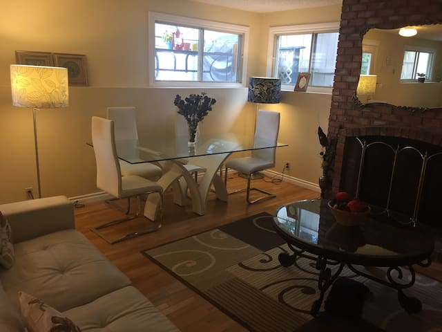 Very clean and furnished private studio suite