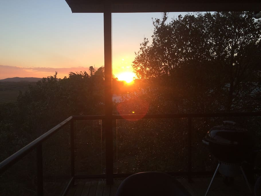 Sunset from Front Deck