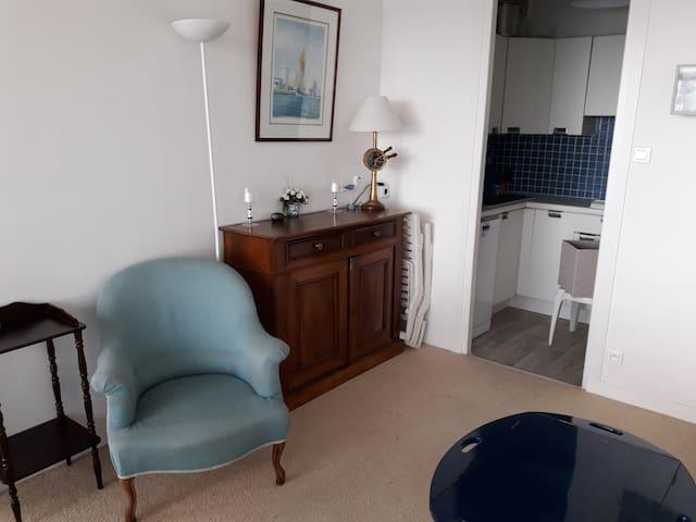 T2, avec balcon face à la baie des Sables - Les Sables-d'Olonne - Apartment