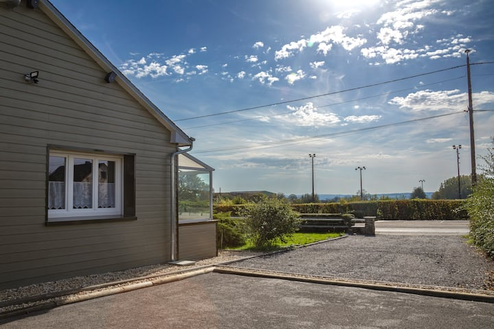 Gite Le Col Vert 140 m² avec véranda
