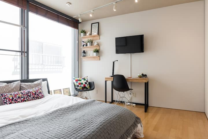Cozy & Comfortable Meguro Riverside Studio