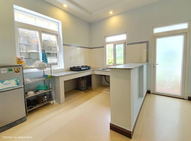 Ground floor - Kitchen area