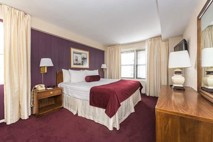 Comfy 1 bedroom suite in midtown manhattan