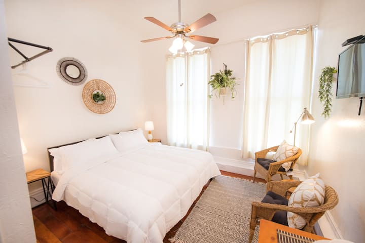 Tranquil, King Bed loft in Downtown San Diego!