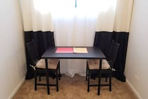 There is a desk in your room!
