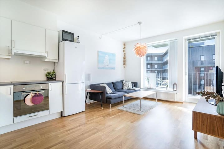 Nice & clean apartment in trendy Stavanger