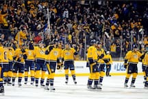 "Home of the Predators (""Preds""), Nashville has become quite the hockey town! You're a quick Uber/Lyft ride to Bridgestone Arena from the house."