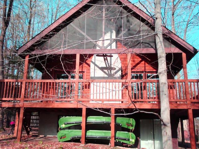 Cozy Cabin with Resort Amenities! - Hamlin - Casa