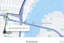 Affordable Uber to Center City