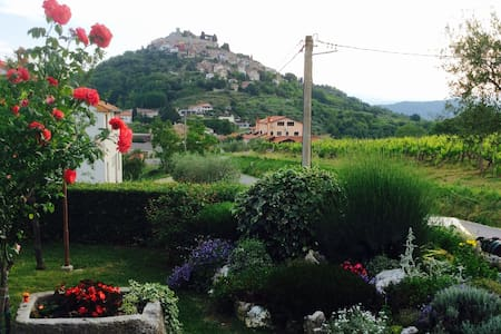 "Lovely apartment ""Tomaz"" with amazing view - Motovun - Byt"