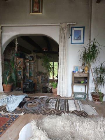 Ecovillage Fondale Corsica, chambre partagée