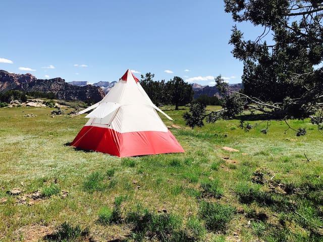 ZION: Moonlight Oasis camp TENT & Camping #2 - La Verkin - Tipi