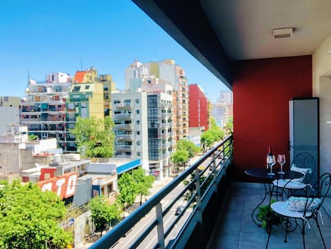 Bright apartment in Almagro near the subway