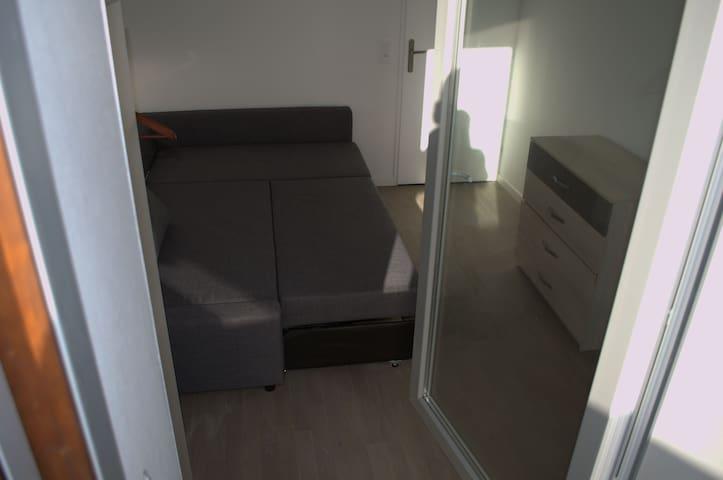 Chambre avec terasse 20mn st Lazare - Colombes - Apartamento
