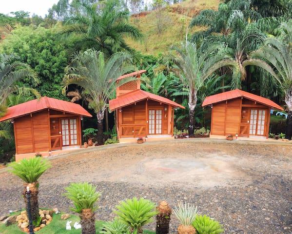 Casa Laranja chalé 01