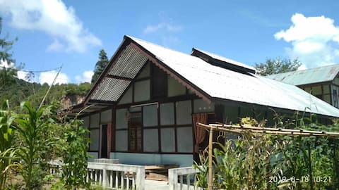 Ziro@Haopoli, Traditional type farmhouse,cosy stay