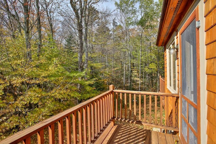 <center>Beautiful Killington views off of your own small private deck<center>