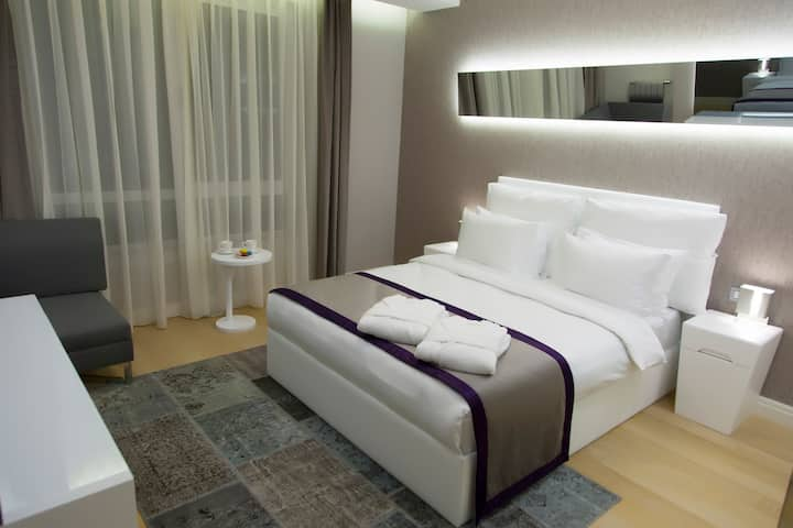 1+1 Luxury Furnished Apartment For Family &Couples