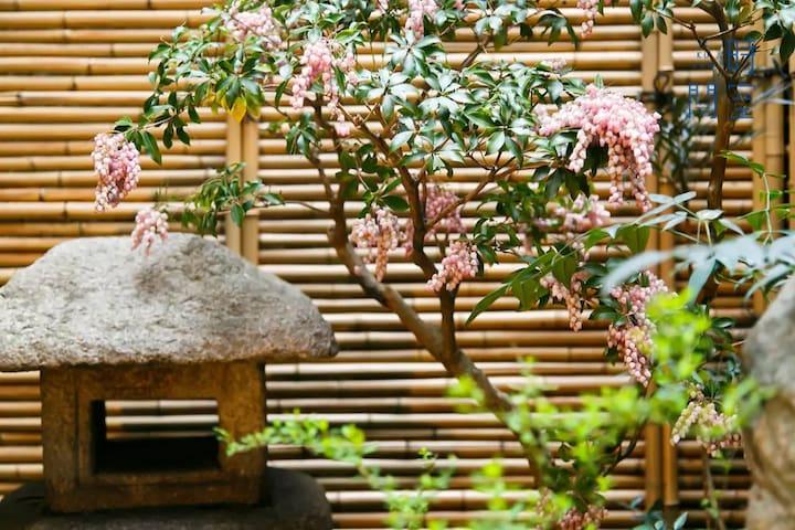 放松的酒店[时间空间创造]最多9个人住宿/独立式住宅私人/新大阪步行5分钟/许多餐厅