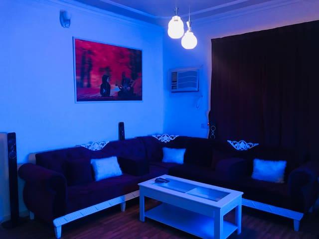 Private entrance apartment شقه #بمدخل خاص دور ارضي