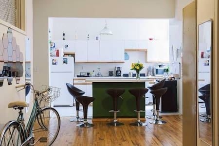 Long term sublet from Feb3 in Clinton Hill Loft - Brooklyn