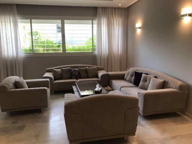 Appartement 86 m2 de luxe rabat Hay riad Prestigia