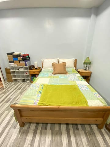 Queen Bed at the Master Bedroom